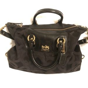 Coach Madison art OP Sabrina Satchel Bag